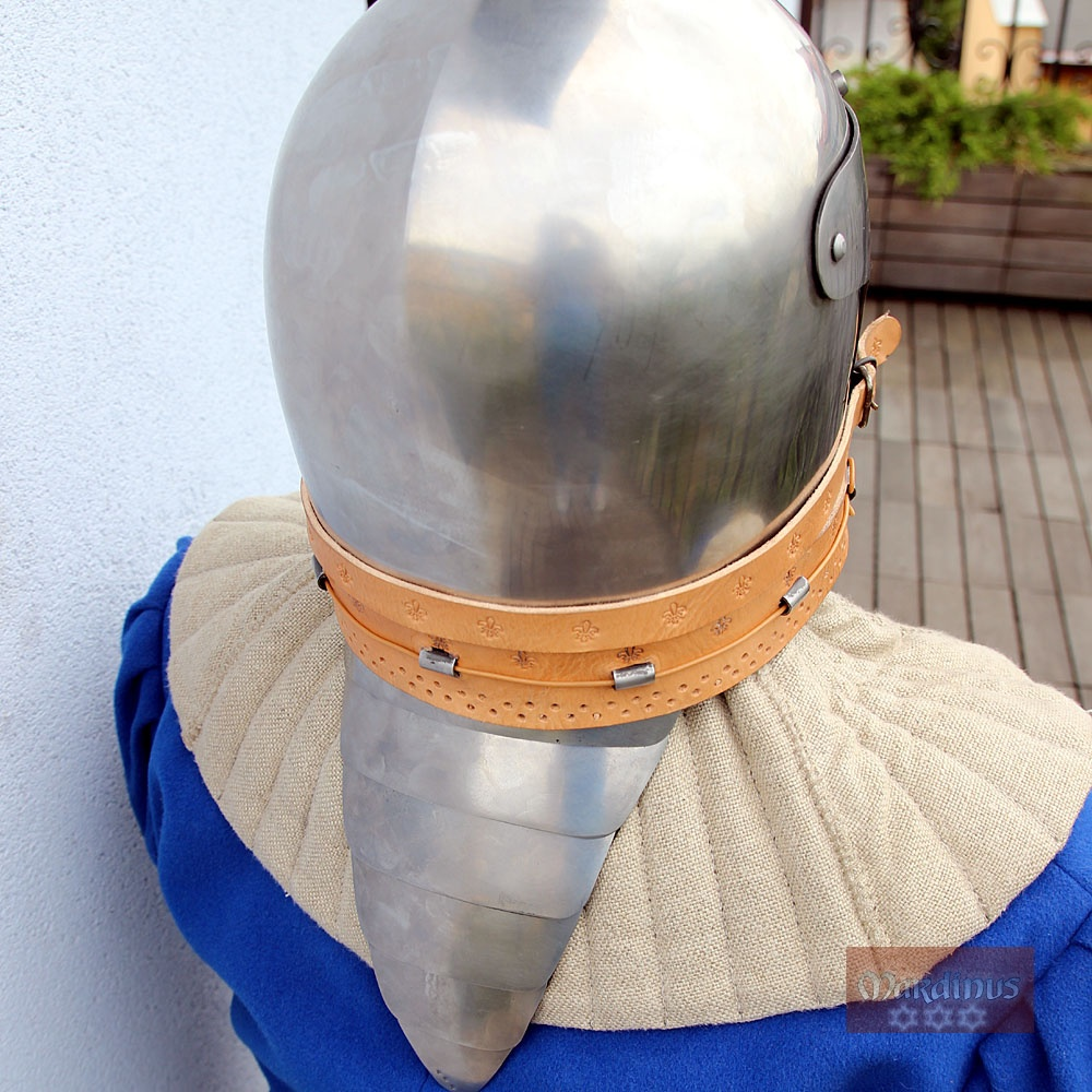 neck shield for buhurt